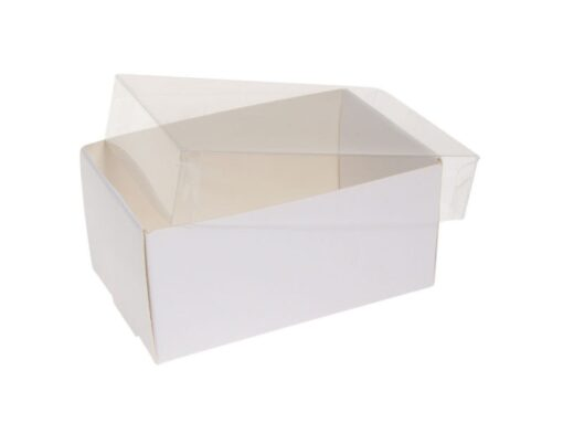 Varenr. 3025 - Kartonbund til visitkortæske (plastlåg bestilles separat): 103x66x50 mm. Sælges i bundt/kolli á 50 stk.
