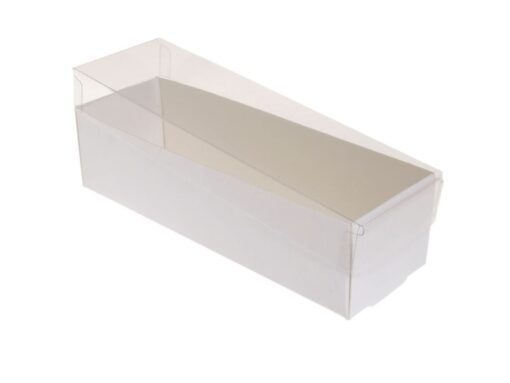 Varenr. 3035 - Kartonbund til visitkortæske (plastlåg bestilles separat): 190x60x50 mm. Sælges i bundt/kolli á 50 stk.