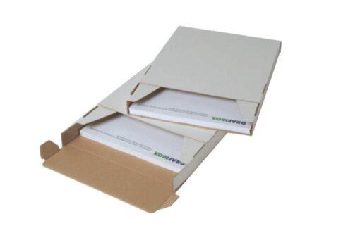 A4 Formbox forsendelsesæske: 320x220x80 mm.