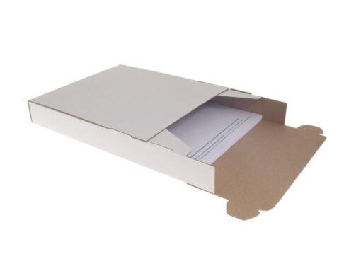 A5 Formbox forsendelsesæske: 230x225x80 mm.