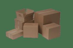 A4 Tryksagskasse papkasse: 310x230x250 mm
