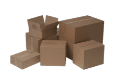 A4 Tryksagskasse: 305x215x302 mm. Brun 1 lags 4mm bølgepap kasse 25 stk. pr. Bundt. Ved lukning tapes i top og bund.